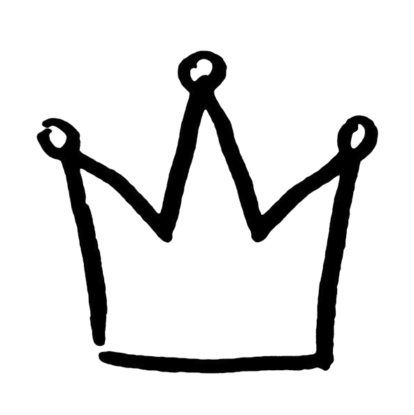 Krone Schwarz Weiß